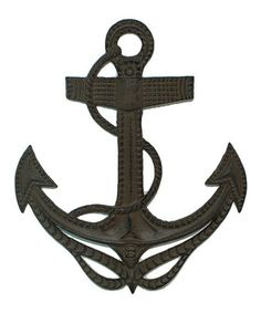 Another great find on #zulily! Anchor Wall Decor #zulilyfinds