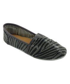 Look what I found on #zulily! Black Zebra Classic Tammy Slip-On Shoe #zulilyfinds