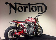 """""""The first picture of the Norton 961 Flat Track Norton Motorcycles (UK) Ltd"""""""