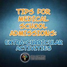 Medical school admission tips, with emphasis on your extra-curricular activities #premed https://www.youtube.com/watch?v=7tRbDHltZDQ&index=3&list=PLAZha1Cf45dZoorY3S-iR5lol7avgtniO