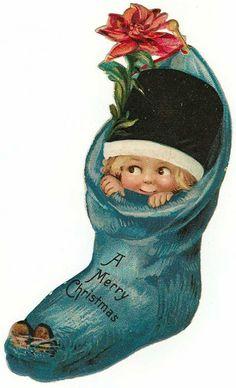 Free Vintage Christmas Gift Tags