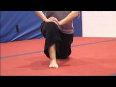 Hip Flexor Stretches vital for great jumps. Gymnastics Lessons, Gymnastics Stretches, Cheer Stunts, Cheerleading, Dance Stuff, Work Outs, Workout Videos, Stretching, Lesson Plans