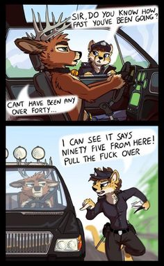 The 10 Best Zootopia Fan Comics - Dorkly Post Funny Shit, Funny Cute, Hilarious, Funny Gifs, Super Funny, Furry Comics, Furry Drawing, Anthro Furry, Furry Art