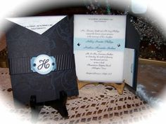 wedding invitation for Ashley Stampin up, wedding, invitation, mds, my digital Studio