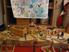 plattegrond bedacht voor een dierentuin en na gebouwd.