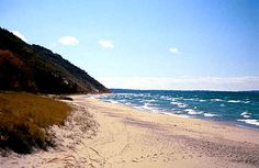 Lake Michigan...LOVE going there during the summer/fall.