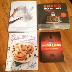 Great minds think alike... Christmas presents! #sisters #cookbooks #baking #dominiqueansel #cronut #dka #kouignamann #baked #nyc #cake #cookies #bourbon #bacon #southern