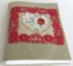 """""""valentine"""" notebook/journal by arty moods. Find it on etsy: https://www.etsy.com/listing/123868631/vintage-style-notebookjournal?ref=shop_home_active  http://www.artymoods.com https://www.etsy.com/ie/shop/ArtyMoods"""