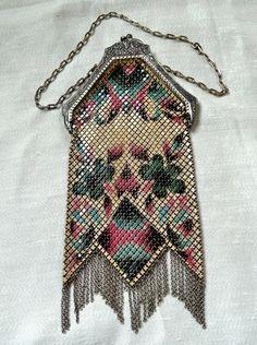 Dainty Deco - Art Deco Mandalian Mesh Bag