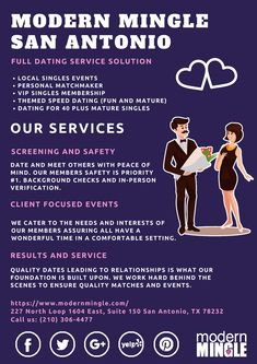 Dating service in San Antonio