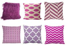 #design #casa #home #matrimonio #wedding #tuttosposi #radiantorchid #pantone #pillow