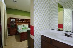 This Revere model #bedroom at the Bridges at #Gilbert offers ample space and comfort. #Design #Decor #Bathroom