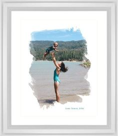 Brushed Moments Framed Print, White, Classic, Cream, White, Single piece, 16 x 20 inches, White