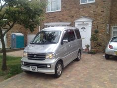 Kei car, tiny, micro camper van. This is a Japanese import 7 seater van/mpv that has been converted into a camper van. Daihatsu atrai 7/ extol/ hijet