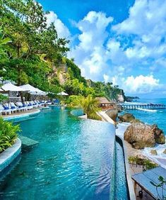 Ayana Resort and Spa, Bali - Indonesia ✨🌺🌺✨ Pic via ✨✨ check his feed out for incredible lifestyle posts! Best Cheap Hotels Booking Deals Get Special Promo Deals Hotels Cheap Discounted Up to Off Places To Travel, Travel Destinations, Places To Go, Beautiful Pools, Beautiful Beaches, Dream Vacations, Vacation Spots, Vacation Packages, Travel Abroad