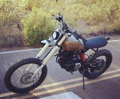 On BikeBound.com: Honda #XR500 #scrambler by @droogmotoconcepts. http://ift.tt/1TkXPnp