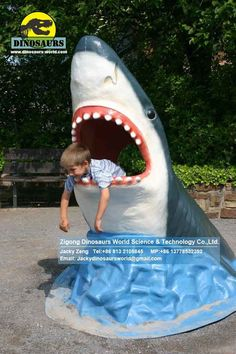 Shark Head for beach/shark week.  Use this as model to make a tape structure or foam core & cardboard structure.
