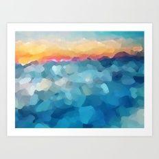 Some Faraway Beach Art Print