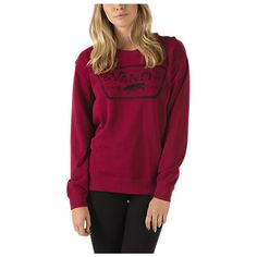 Authentic Crew Sweatshirt (€35) ❤ liked on Polyvore featuring tops, hoodies, sweatshirts, rumba red, red top, sweatshirt pullover, crew neck sweat shirt, pullover sweatshirts and tall sweatshirts
