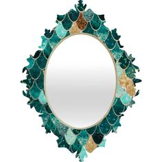Monika Strigel Really Mermaid Baroque Mirror | DENY Designs Home Accessories