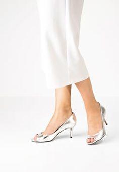 Pura Lopez - Peep-toes - silver