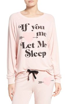If you love me, let me sleep.