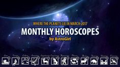 March 2017 #Horoscope for #Aries - March looks to be a turning point in your life and a time for you to clarify your aims and your agenda. Your birthday month rolls around this month...your New Moon March 27 is the kick off to your solar cosmic year. What do you have in mind to wish for on your upcoming birthday cake Rams?