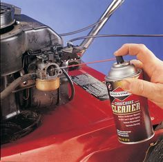 Fix Lawn Mower 402931497911648879 - Lawn mower carburetor problems? Keep the small engine in your outdoor power equipment running smoothly with Briggs & Stratton repair & maintenance tips! Lawn Mower Maintenance, Lawn Mower Repair, Lawn Equipment, Engine Repair, Small Engine, Home Repair, Repair Shop, Diy Auto Repair, Lawn Care