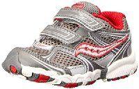 Saucony Boys Baby Catalyst HL Running Shoe (Toddler)