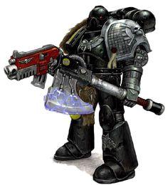 Deathwatch Kill-marine - Warhammer 40K Wiki - Space Marines, Chaos ...