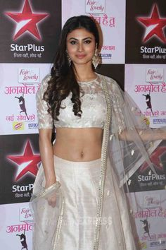 Mouni Roy at the launch of the show 'Nayi Soch Ko Salaam'. #Bollywood #Fashion #Style #Beauty