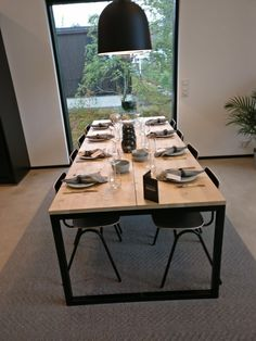 Dinning Table, Dining Room, Kitchen Design, Iron, Furniture, Home Decor, Table And Chairs, Houses, Dining Rooms