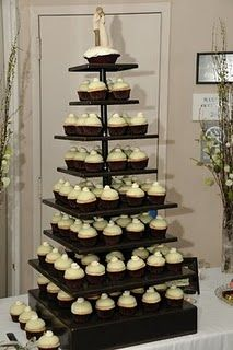 Our Wedding Cupcake Tier!
