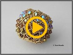Jewerly, Beading, Gold Rings, Beaded Bracelets, Knitting, Videos, Youtube, Swarovski Crystals, Bijoux