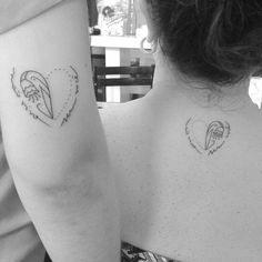 Twin Tattoo • Mãe e filha