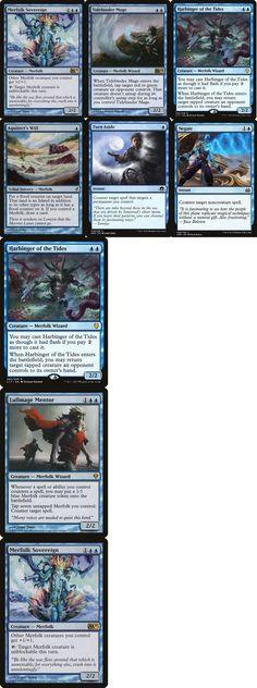 4 Whirlpool Warrior = Blue Apocalypse Mtg Magic Rare 4x x4