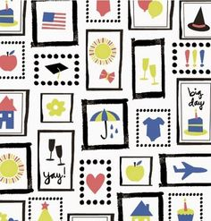 print & pattern: FABRICS - ampersand