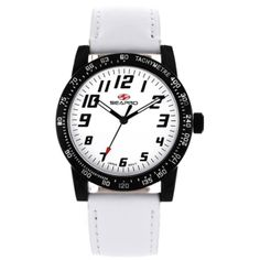 Women's White Dial White Leather - Seapro Watch