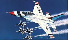 """#NEW #F-16C Fighting #Falcon """"Thunderbirds"""" 1/48 #Academy Model Kit Fighter Aircraft    http://www.stylecolorful.com/new-f-16c-fighting-falcon-thunderbirds-1-48-academy-model-kit-fighter-aircraft-1695-airforce/"""