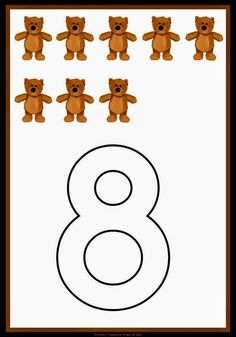 SGBlogosfera. María José Argüeso: CONTAMOS OSITOS Counting Activities, Preschool Activities, Math Notes, Math Numbers, Busy Book, Numeracy, Kindergarten Worksheets, Pre School, Fairy Tales