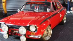 MK1 Ford escort RS1600 AVO mexico by minichamps 1:18 scale