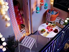 Small balcony. Homedit - interior design and architecture inspiration