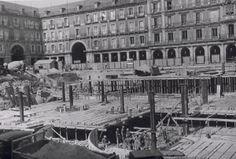 Plaza Mayor de Madrid en 1968