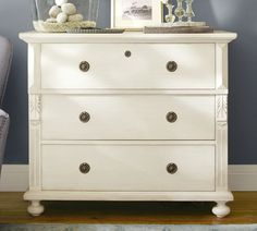 Antique dresser repainting/styling inspiration.