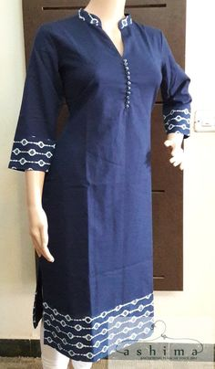 – Price , Cotton Kurti. African Dresses For Women, African Attire, African Fashion Dresses, African Wear, African Women, Ghanaian Fashion, Ankara Fashion, Salwar Designs, Kurti Neck Designs