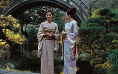 Memoirs of a Geisha Wallpaper - WallpaperSafari Colleen Atwood, Demi Moore, Gary Oldman, Kimono Tradicional, Mystery Train, Memoirs Of A Geisha, Ghost In The Shell, Japanese Kimono, Hanfu