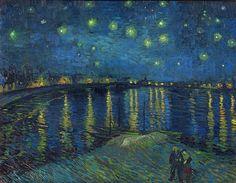 Starry Night Over the Rhone - Vincent van Gogh