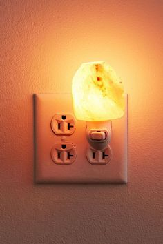 Shop Himalayan Salt Lamp Night Light at Urban Outfitters today. We carry all the latest styles, colors and brands for you to choose from right here. Himalayan Salt Lamp, Warm Blankets, Votive Candles, Natural Materials, Small Gifts, Tshirt Colors, Night Light, Pendant Lighting, Cleaning Wipes