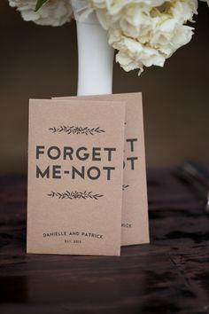 """recordatorios con semillas, para que """"no me olvides"""" los podemos hacer con papel semillado o los sobres con semillas"""