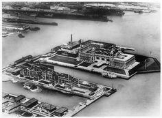 Aerial Views of Ellis Island - Save Ellis Island